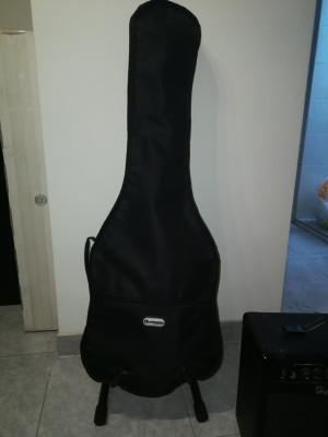 Guitarra y amplificador Harley Benton y accesorios