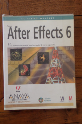 'Adobe after effects 6' El libro oficial. Anaya