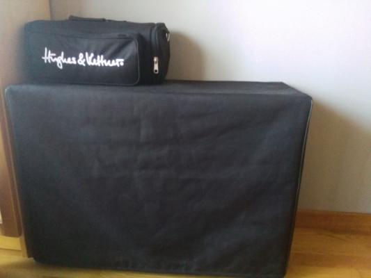 Se vende Hugues& kettner 18w con pantalla Harley Benton 2+12 Celestion Vintage.