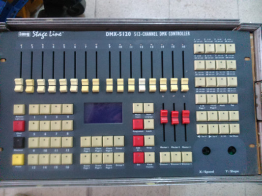 IMG STAGE LINE DMX-5120 DMX CONTROLLER