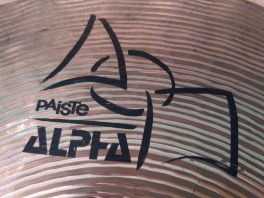 Paiste Alpha -MADE IN SWITZERLAND- Sound Edge Hi Hat de 14""