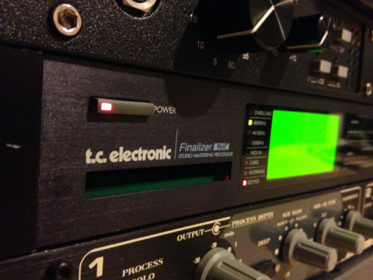 T.C. Electronic Finalizer 96K Studio Mastering Processor