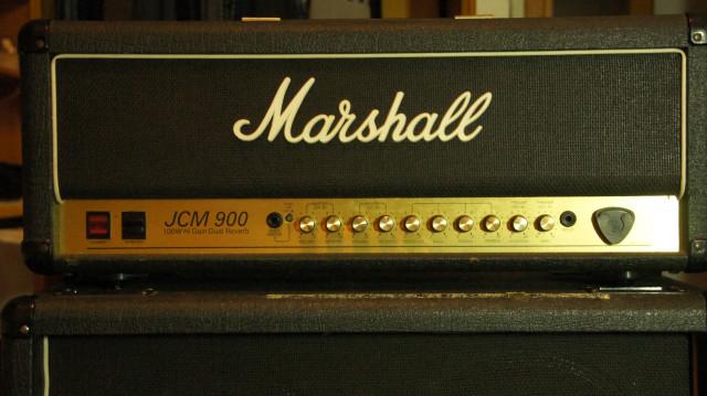 JCM 900 - cabezal y pantalla