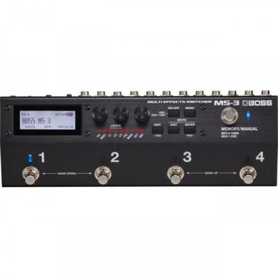 BOSS MS-3 (Effect-Loop-Switcher en formato Pedal-Board )