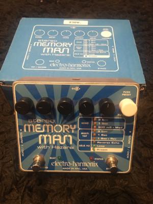ehx stereo memory man with hazaray
