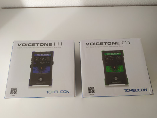 TC HELICON VOICETONE H1 y D1