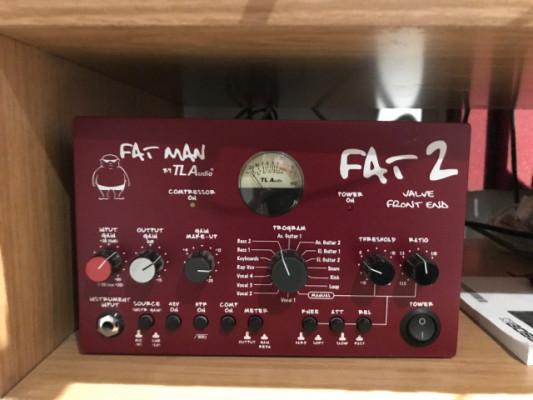TL Audio Fat Man 2 Valve Tube Compressor Preamp