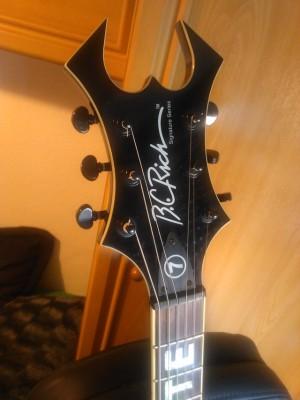 / o vendo BC RICH NJ warlock signature Mick 7 (6 cuerdas) *400€*