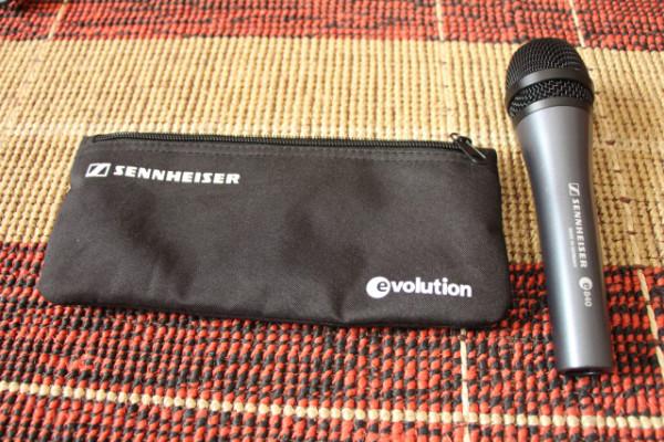 Micrófonos Sennheiser e840 y e835 (3 unidades)
