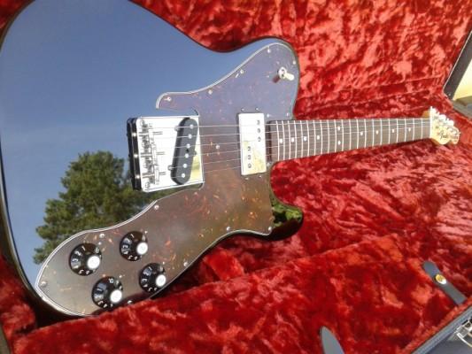 Nueva! Fender AM Vintage 72 Tele Custom FSR Special Edition Black