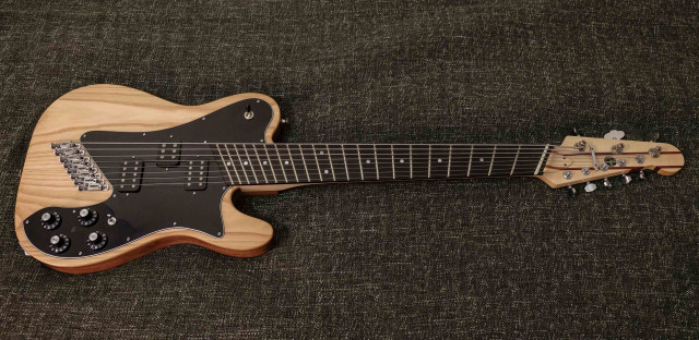Guitarra híbrida telecaster 8 cuerdas (Novax , Charlie Hunter)