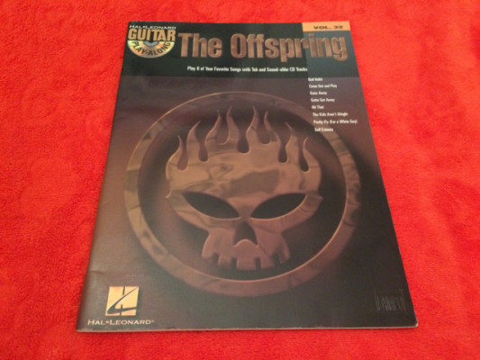 PARTITURAS THE OFFSPRING PLAY-ALONG + CD - NUEVO