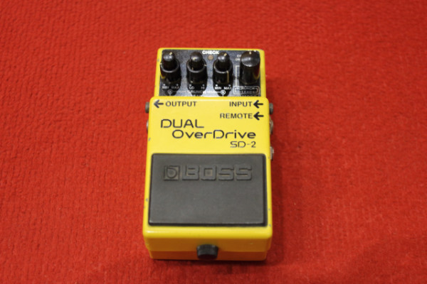 Boss Dual Overdrive SD-2
