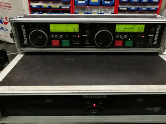 REPRODUCTOR DE CD DOBLE NUMARK CDN 22 MK III
