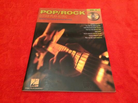 PARTITURAS VARIOS ROCK PLAY-ALONG + CD - NUEVO