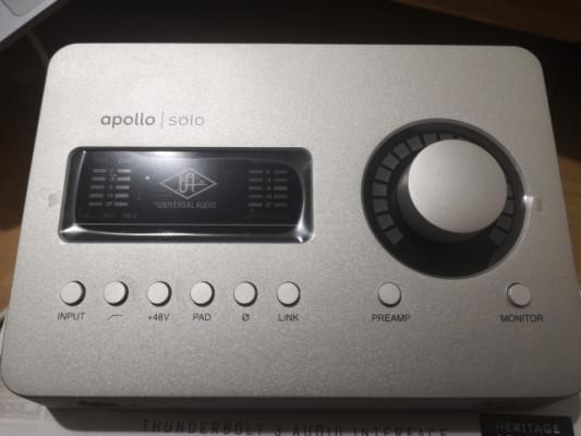 Universal audio Apollo solo tb3 + udg NUEVA / ESTRENAR