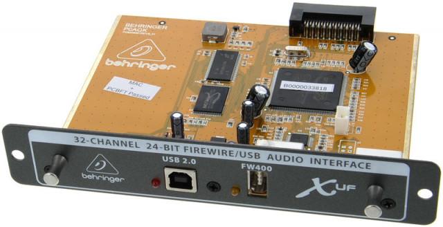 Targeta Behringer X-UF a precio de X-USB