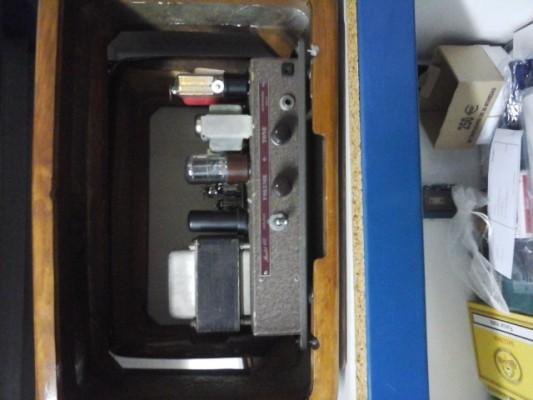 Amplificador Bell & Howell/Filmosound 601 años 40's