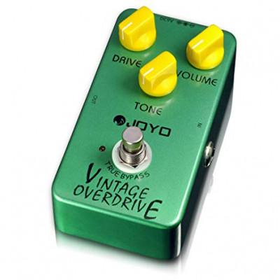 Joyo JF-01 Vintage Overdrive – Pedal de efectos para guitarra