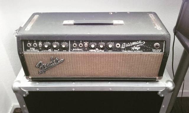 Amplificador Fender Bassman Blackface de 1966 + Flightcase (VIDEOS)