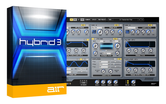 Licencia para Hybrid 3 (AIR Music Technology)