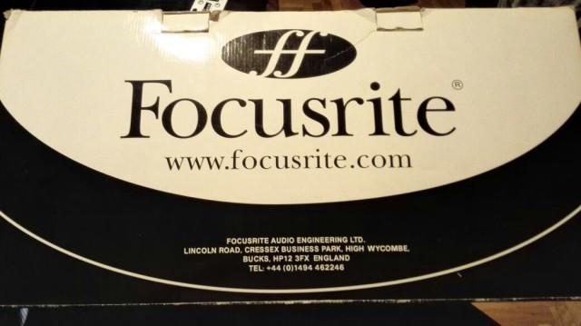 Focusrite Octopre 8 Previos