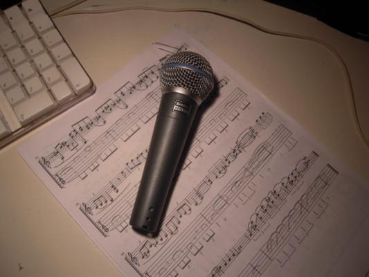 Microfono Shure Beta SM 58A