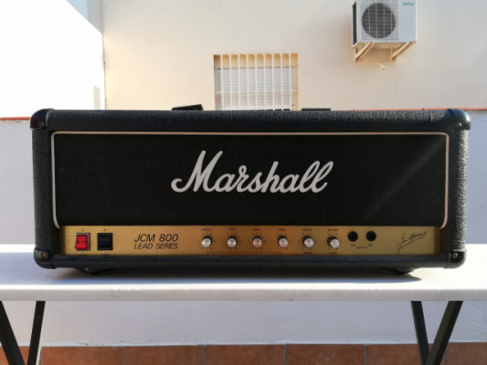 Cabezal Marshall JCM 800