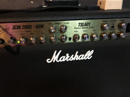 Marshall JCM 2000 TSL 601 60W válvulas 100%