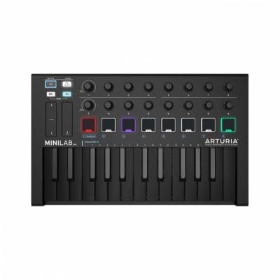 Arturia Minilab Mk II 25 black por un teclado con 49 teclas grandes