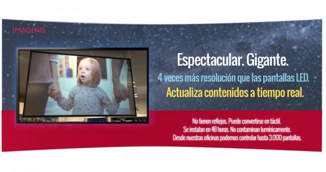 Atrae clientes convirtiendo tu escaparate en una pantalla de cine