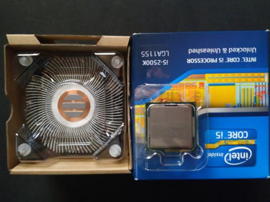Intel i5 2500K procesador + disipador ventilador