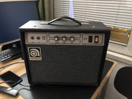 Amplificador guitarra Ampeg G18 Vintage