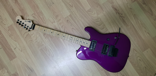 Charvel San Dimas USA Candy Purple 2 HH