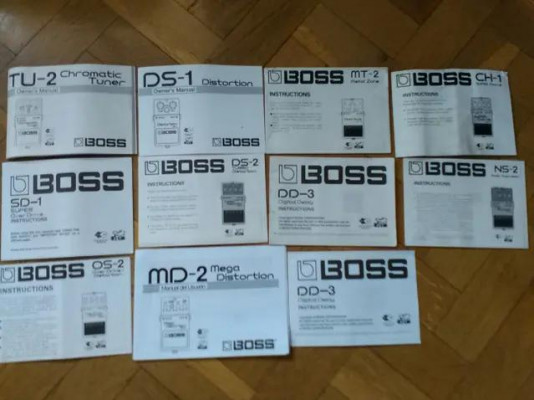 : Manuales de Pedales BOSS