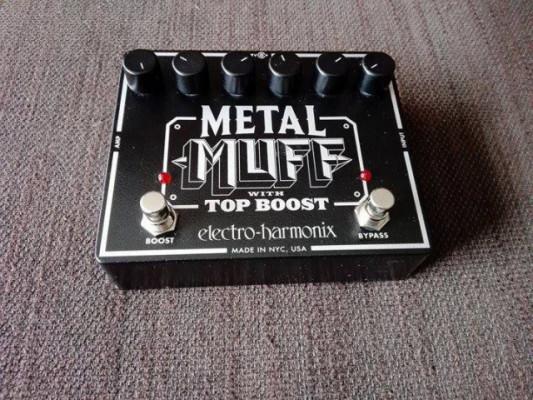 Electro harmonix Metal Muff Top Boost