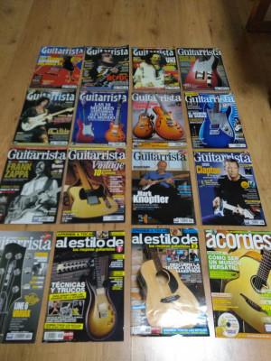 Lote de revistas EL GUITARRISTA