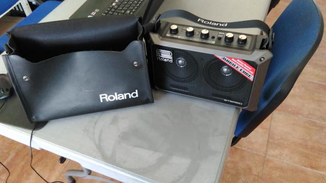 Roland Mobile Cube y Funda