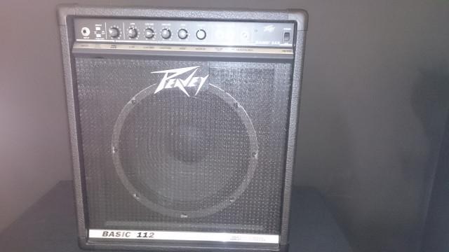 Amplificador Bajo Peavey Basic-112