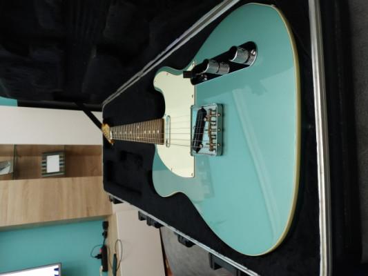 Fender Telecaster custom 62 FSR bound Japan 2015 ocean tourquoise