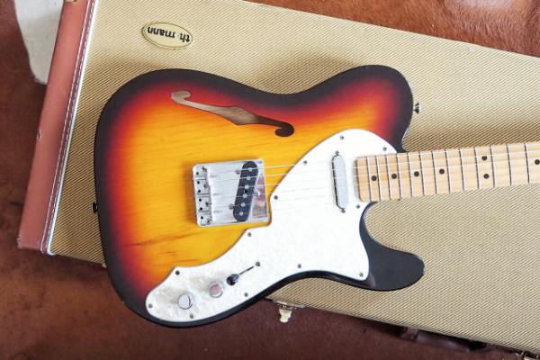 Fender telecaster thinline 69 mex.