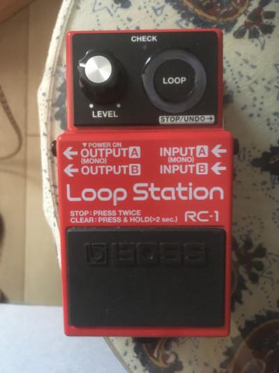 Boss looper rc1