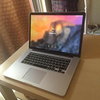 "Macbook Pro Retina 15"" (Mid 2015) AMD, 512 GB SSD"