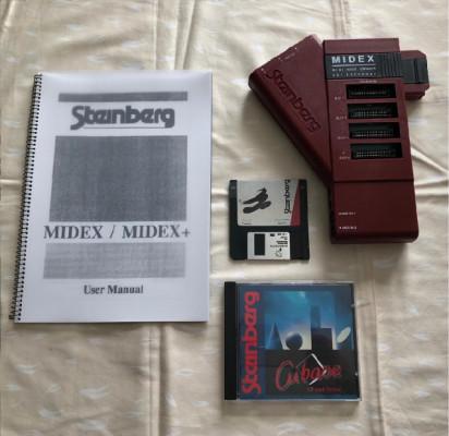 Midex para ordenadores Atari y Cubase (Steinberg).
