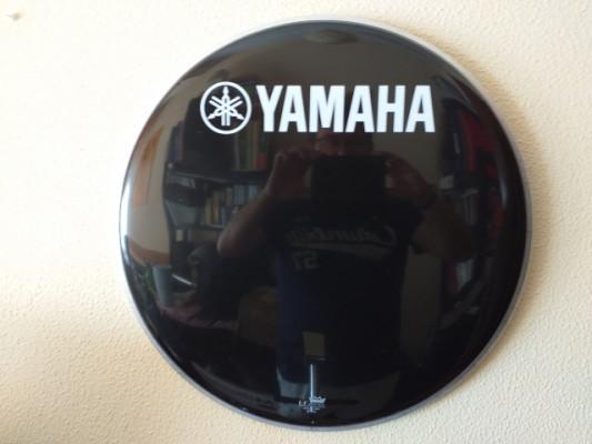 """Parche Yamaha y Traps Reso de 20"""" y Evans 18"""" hidráulico"""