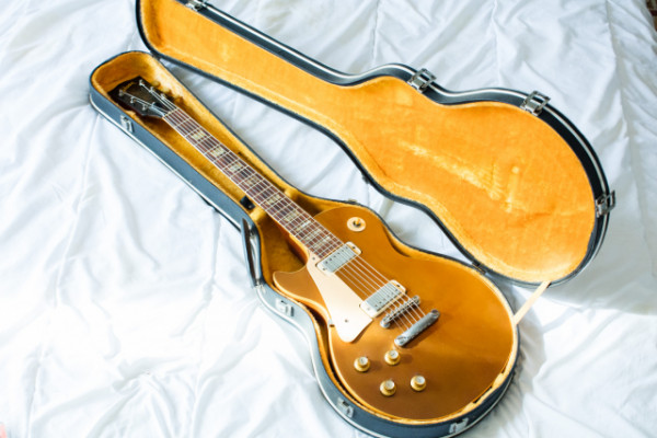 Gibson Les Paul Deluxe 1974 Vintage - Goldtop- Zurda Original