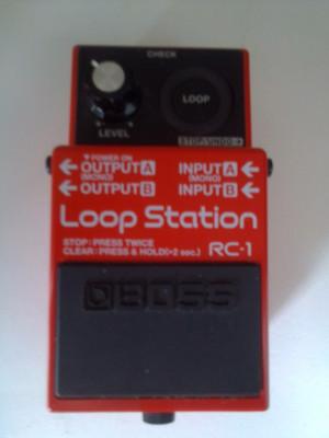 pedal Boss rc1