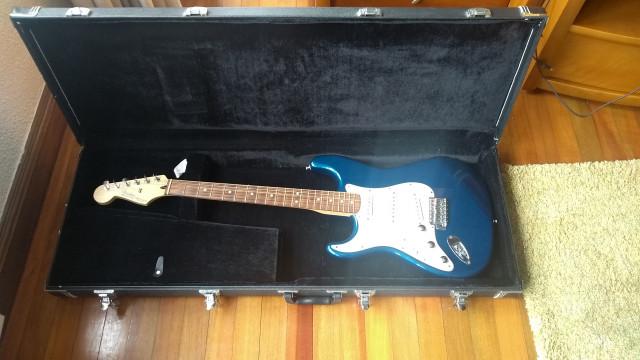 Fender Stratocaster Made in México zurdo left Hand