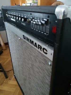 Amplificador Sinmarc MB 4200 - R 4200
