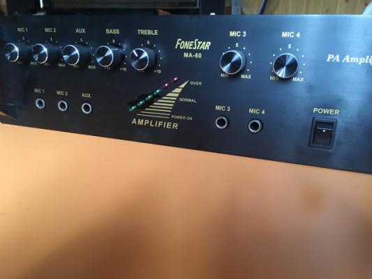 Amplificador para megafonía
